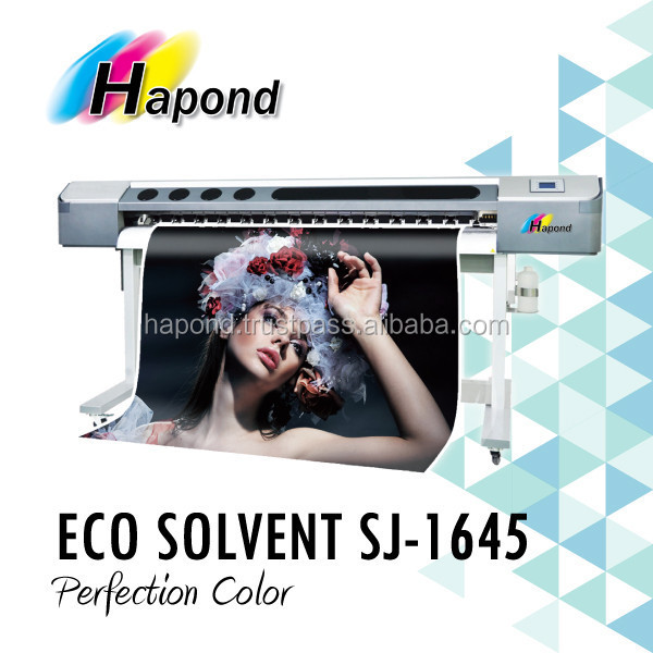 ECO SOLVENT INKJET PRINTER - SJ-1645 - 1.6m indoor wide format inkjet printer