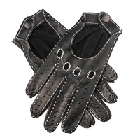 GENUINE Leather Bike Driving gloves