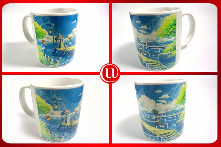 11Oz Customization Photo Printing Ceramic Mug For Sublimation