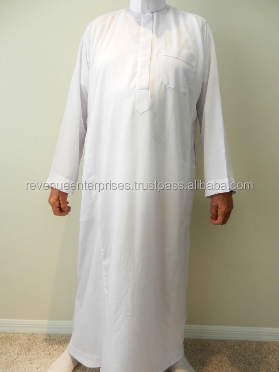 Simple kaftan/Simple kaftan in cotton fabric/Simple kaftan in mix fabric