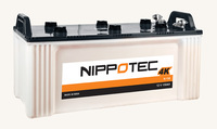 Nippotec 4 K- Dry Charged Solar Battery N-150Amp