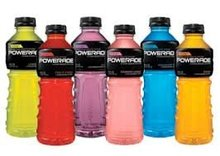 Powerade Energy Drinks Available in Different Flavours