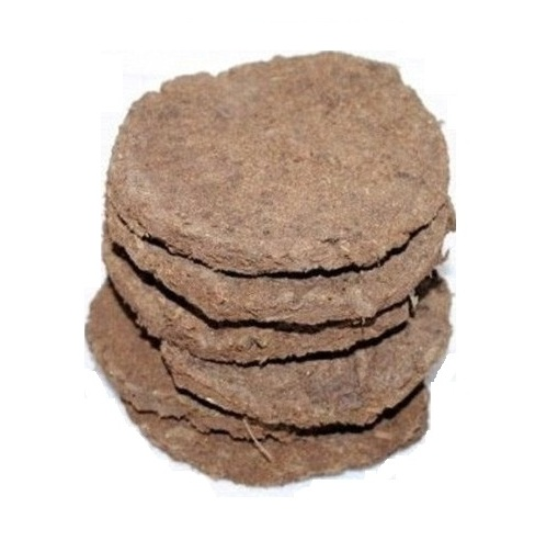 Desi Cow Dung Cake for Hawan Puja