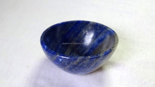 2 Inch Lapis Lazuli Gemstone Handmade Bowl Manufacturer : Wholesale Gemstone Bowls : Agate Bowls India