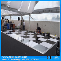 RK Hot Promotion removable dance floor, outdoor dance floor, decorative strands for event