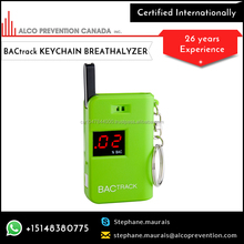 Keychain Backtrack Breathalyzer/Breath Alcohol Tester with Quick Results
