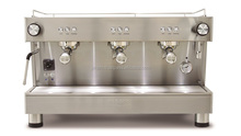 Commercial Stainless Steel Espresso Machine with 3 groups