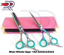 Professional Barber Scissors Hairdressing Thinning Scissors Shears Set