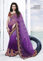 Jovial With Prity Embroidery Designer Saree