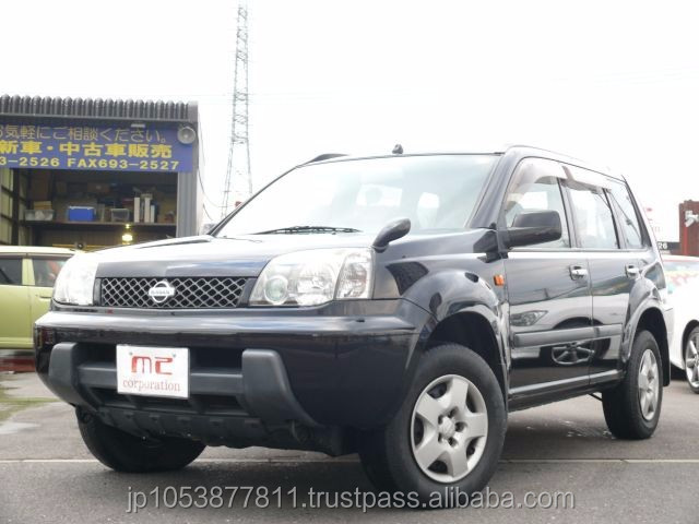 Good looking and right hand drive used vehicles at reasonable prices X-TRAIL 2.0Stt 4WD 2002