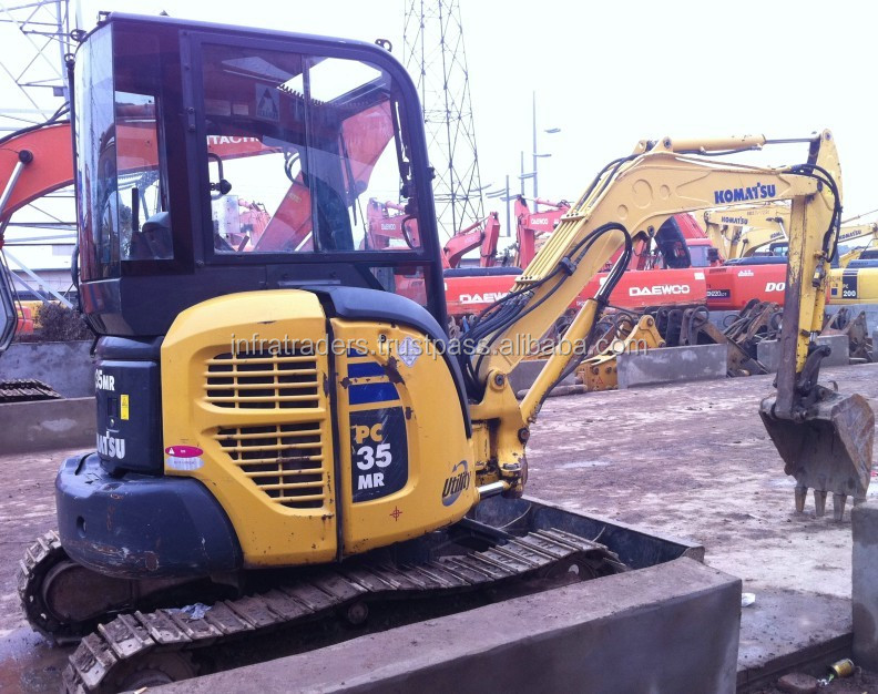 Mini excavator,excavator parts,used Komatsu mini excavator,new excavator komatsu pc35MR-2 price,pc35MR,PC35