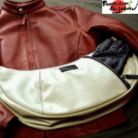 Stylish and high quality horse hide bag made in Japan