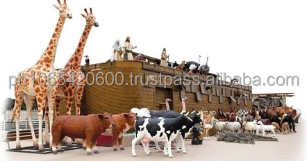 Ark of Noah life size, 25 meters long (82 Feet)