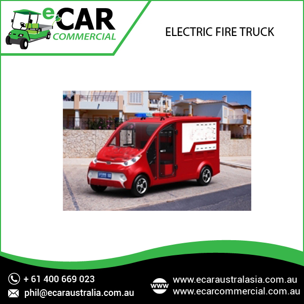 Electric Fire Truck with Long Lasting Battery Life