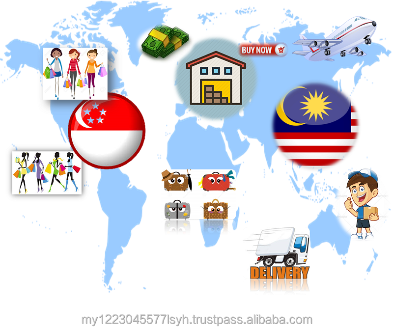 Delivery Singapore to Malaysia Door to Door Express Small Parcel Import Export