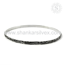 Glamour Of Indian Silver Bangle Wholesale Handmade Silver Jewelry 925 Sterling Silver Jaipur Manufacture