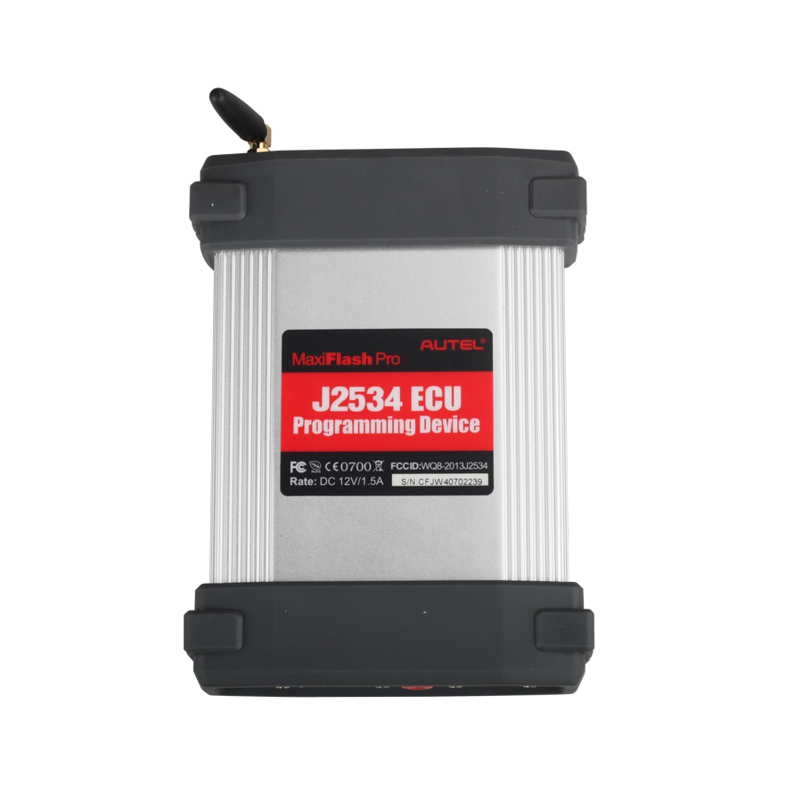 New Arrival Autel MaxiFlash Pro J2534 OBD2 ECU Reprogramming Tool Works with Maxisys 908/908P