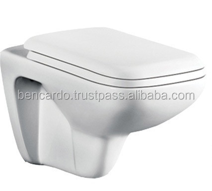 Bencardo Sanitary ware - Wall Hung Toilet - A-453 - Wall Hung Closet Elite