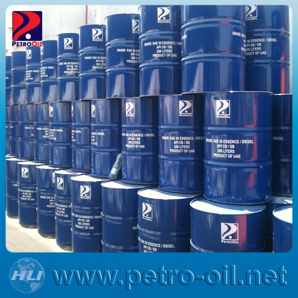 ENGINE OIL SAE 50 CD/SF PETROOIL DRUMS DUBAI UAE