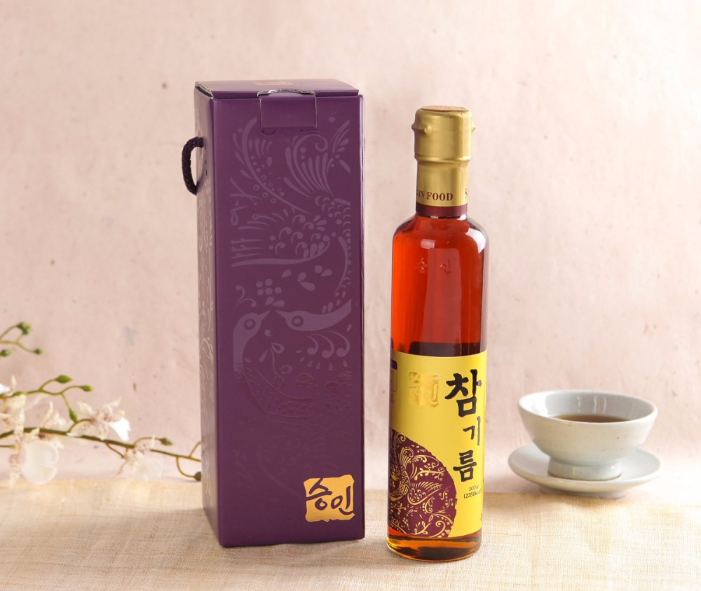Reliable quality korean refinded brand sesame seed oil 300ml * 1ea