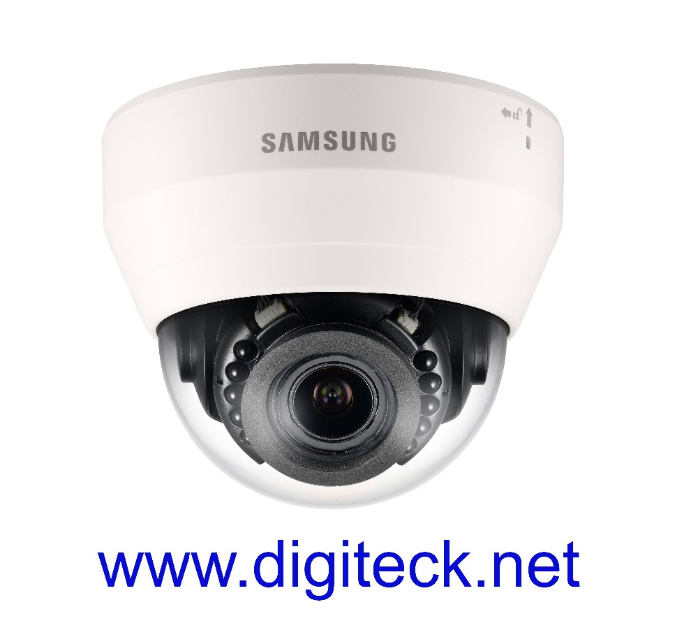 SS360 - SAMSUNG SND-L6083R DOME CCTV CAMERA 1.3MP NETWORK POE 15M IR 3-10MM VARIFOCAL LENS DAY & NIGHT H.264, MJPEG