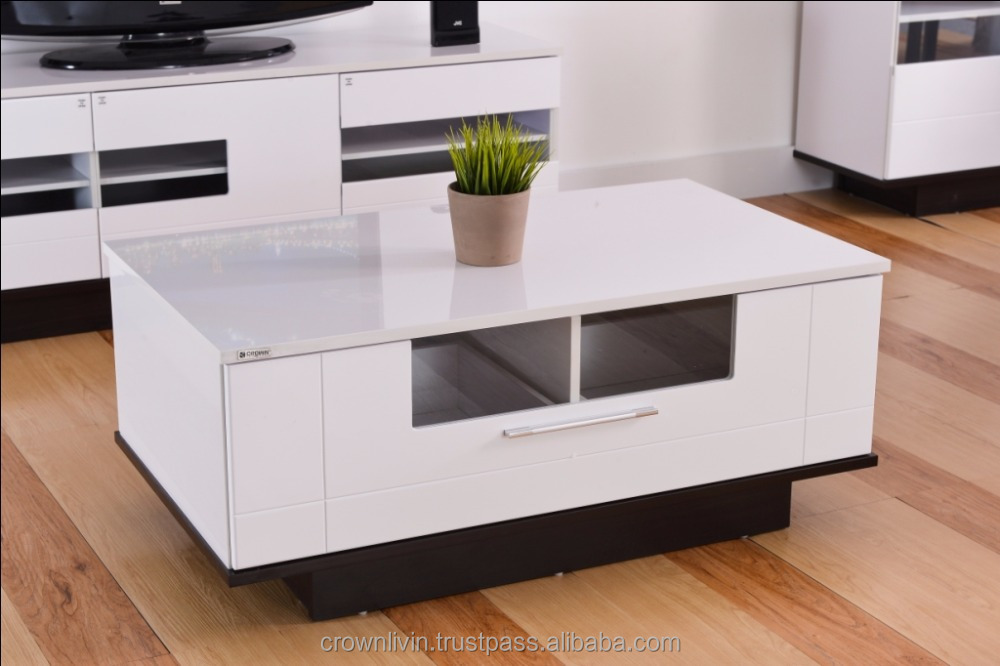 2017 Modern Coffee Table with Storage CTD012D