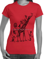 ladies new design t shirt/design your own printed t shirts