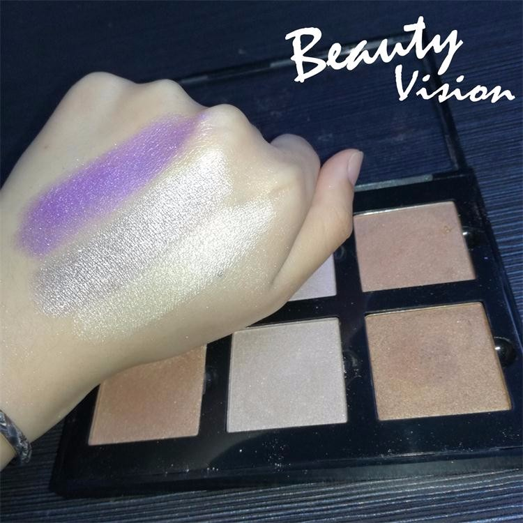Wholesale makeup Supplies Private Label Single Eyeshadow Pan Shining Baked Eye Shadow