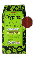 Chemical free organic hair color