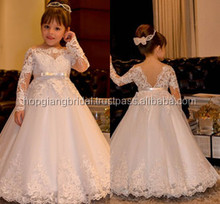 Hot New Arrival Summer 2017 Alibaba Featured Gown Of Summer Flower Girl Dress Patterns For Wedding High Quality