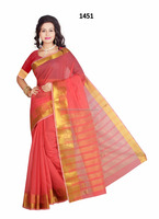 Indian Pure Cotton Saree