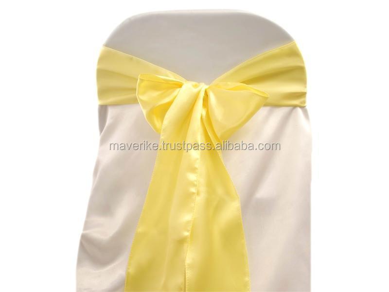 wholesale satin chair sash satin chair cover sashes for