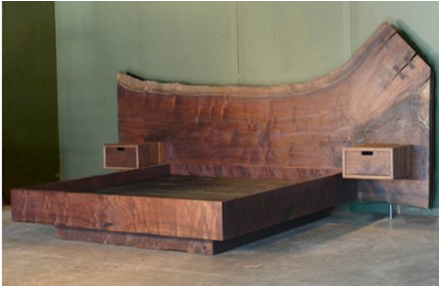 Timber Slab BED