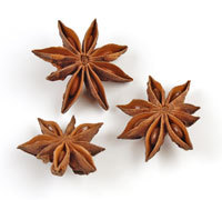 Star anise seeds - star anise with stems, star anise without stems, broken star anise