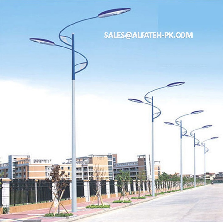 Street Poles / Street Lights / Solar Based Street Lights