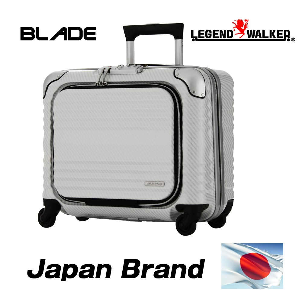 Japan famous brand and Airplane carry-on size luggage telescopic trolley bag at reasonable prices with TSA lock