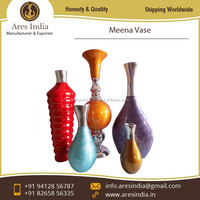 Uniquely Shaped Aluminium Metal Vase at Leading Industrial Price