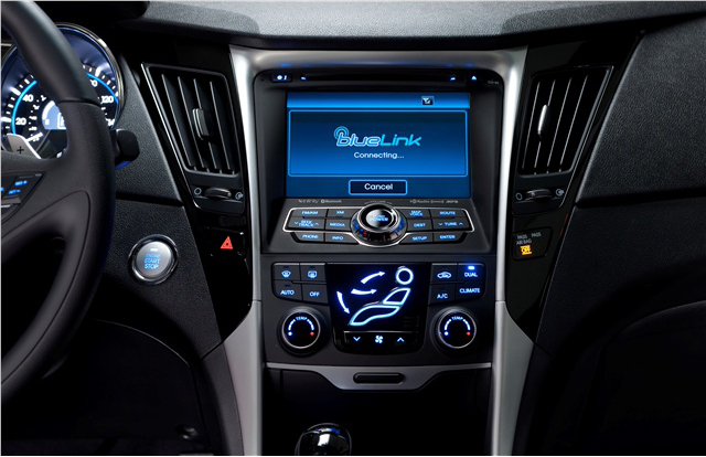 Car audio and Video Sonata 2011 GPS