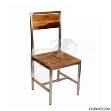 Vintage Industrial Dining Chair