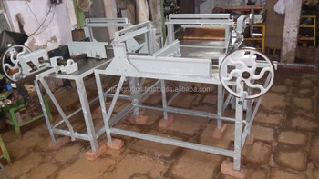 Stainless Steel Soap Three Table Cutting Machine No. E - 4