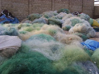 Used Nylon PA Fishing Net Scrap at a low rate