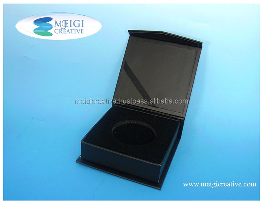 Coin Gift Box, Rigid Set Up Box with Magnet Closure.