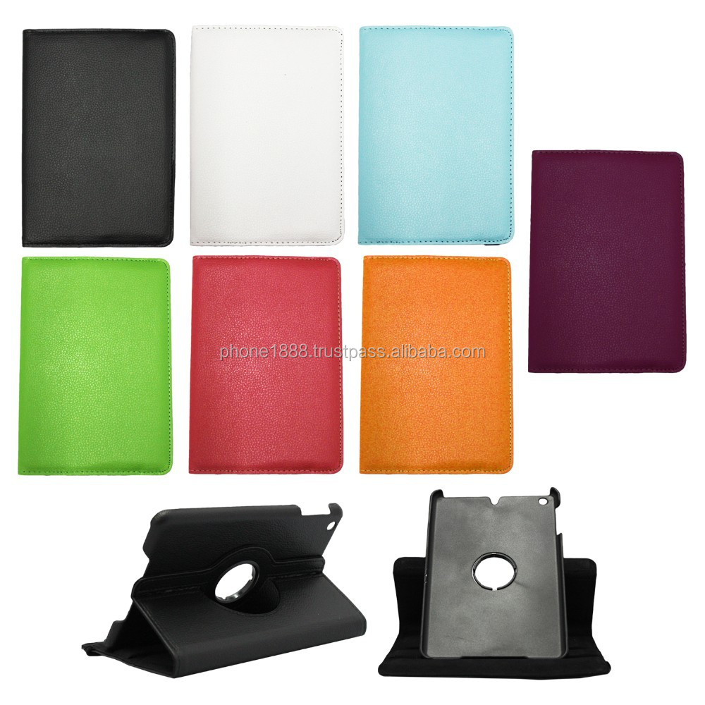 360 Rotating PU Leather Ultra Slim Foilo Case Cover Stand for Apple iPad Air