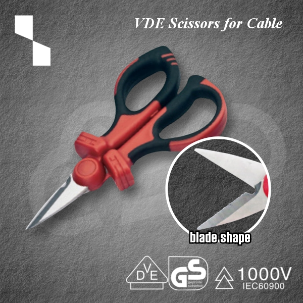 Convenient VDE Scissors for Cable PZSC-2 Insulated tool for industrial use