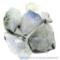 rainbow moonstone rough,wholesale roughs loose natural rare uncut semi precious gemstone,genuine silver 925 silver jewelry stone