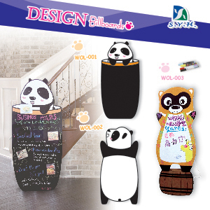 Hot sale top quality wooden stand up advertisement display boards