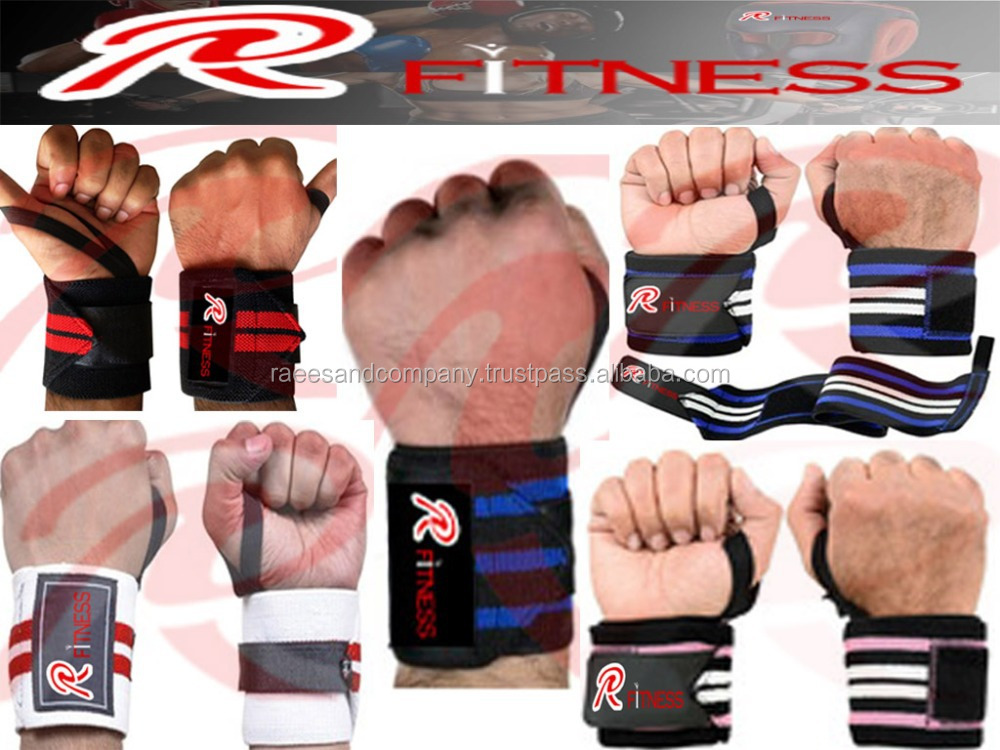 KNEE and WRIST WRAPS selecting different well / Power Lifting Wrist Wraps/Double super heavy Wrist Wraps.
