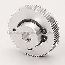 Anti backlash spur gear Module 0.5 Alminium Made in Japan KG STOCK GEARS