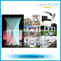 wholesale pipe and drape portable adjustable pipe and drape from factory