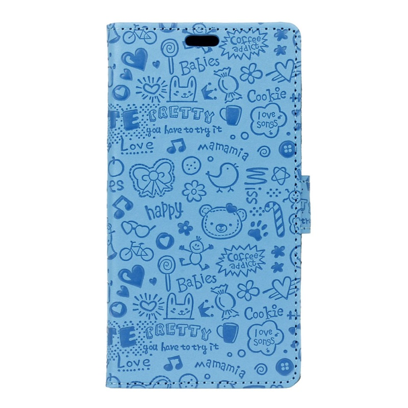 Cartoon Patterns Leather Case Stand Card Holder for Acer Liquid Z520, New Cartoon Cover for Acer Liquid Z520
